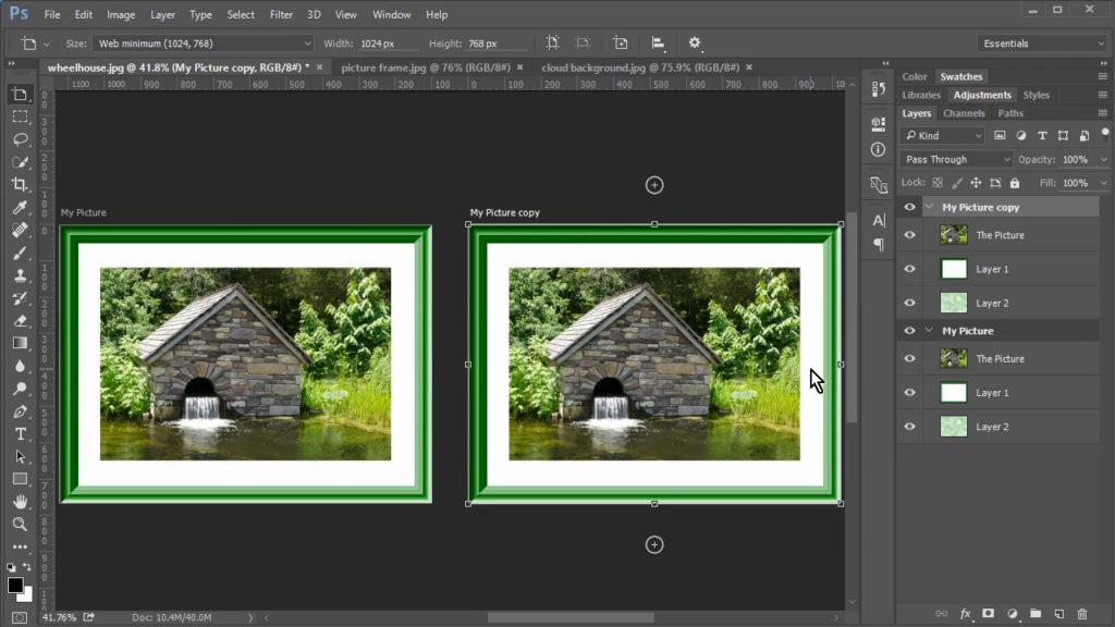 Multiple artboards in Photoshop